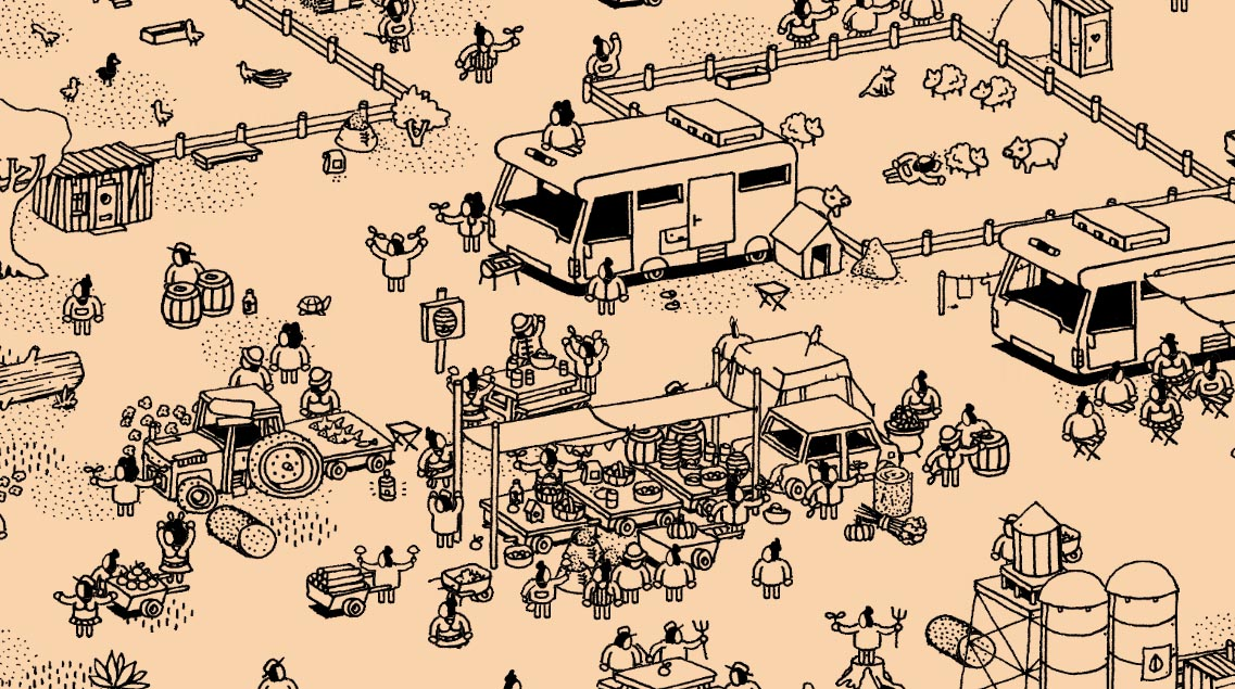 Hidden Folks Review gameplay screenshot