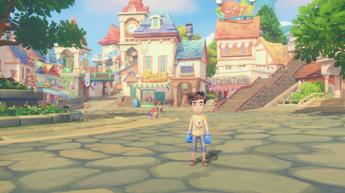 My Time at Portia Review gameplay screenshot