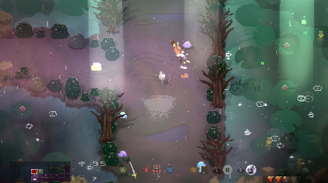 Songbringer Review gameplay screenshot