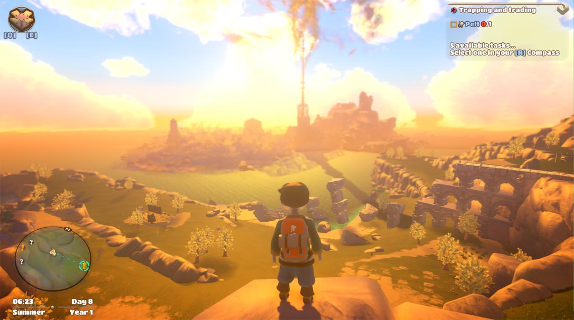 Yonder: The Cloud Catcher Chronicles Review gameplay screenshot